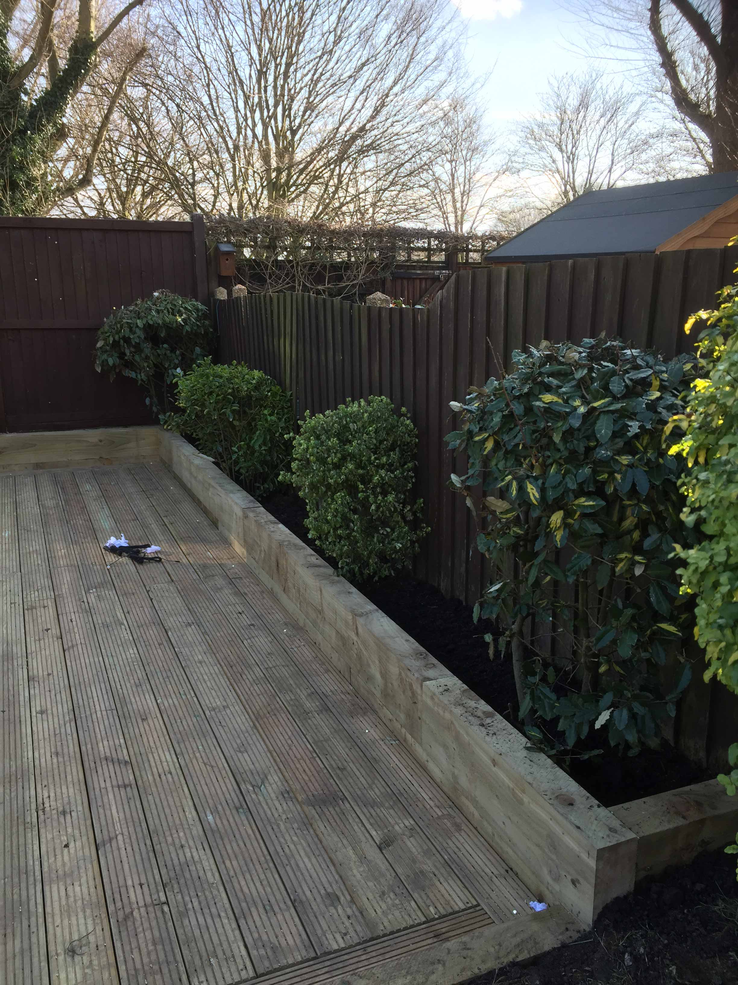 Decking in Loughton