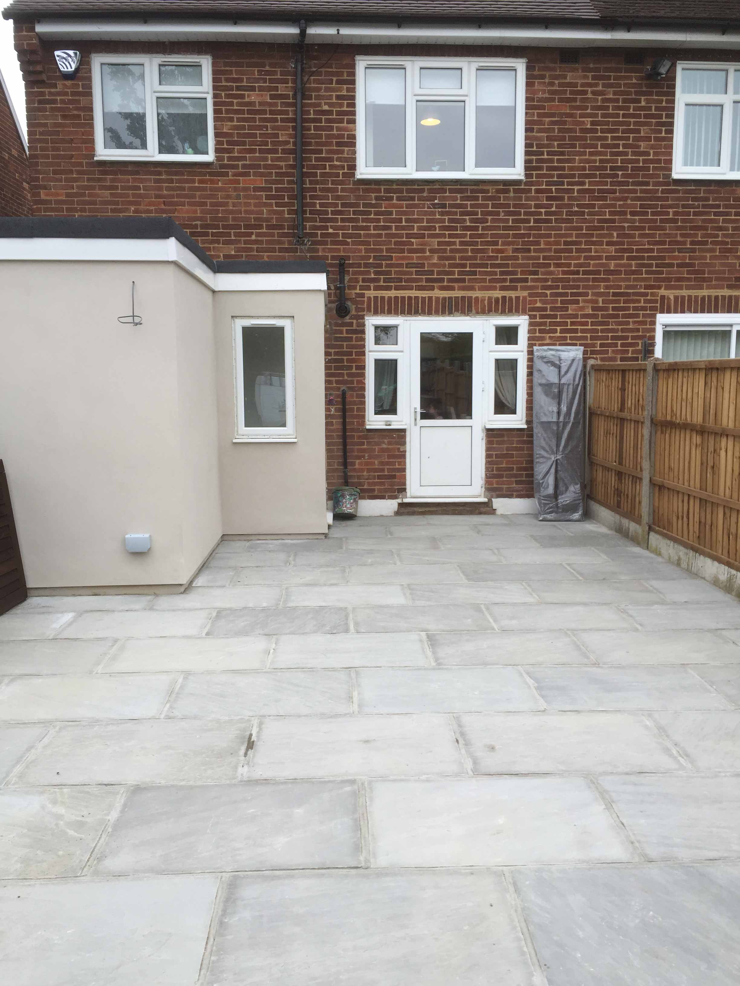 Patio in Woodford