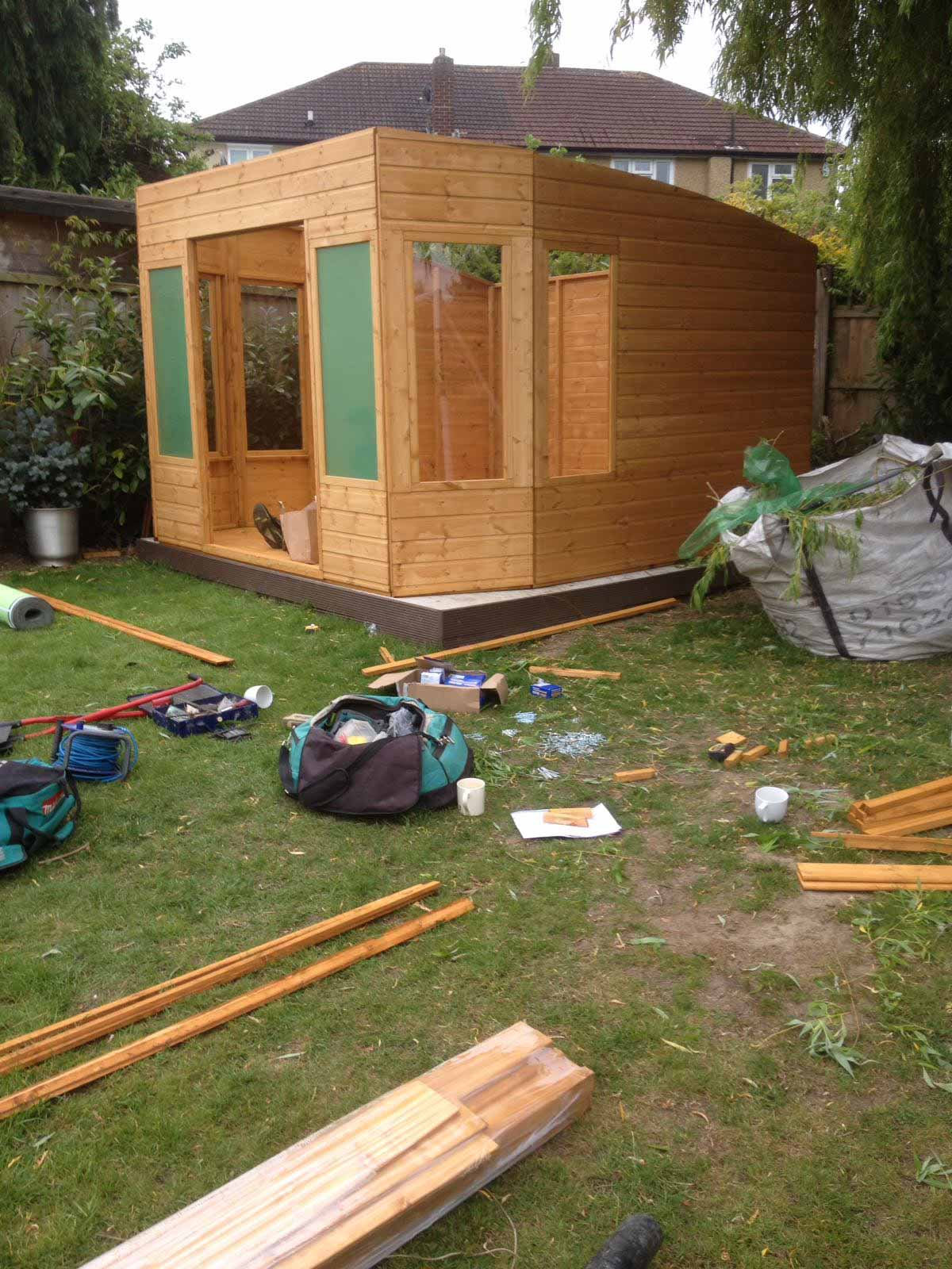 Shed in Essex